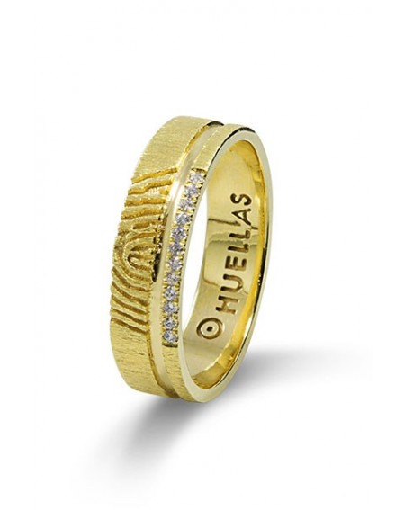 Anillo de compromiso en oro de 18k