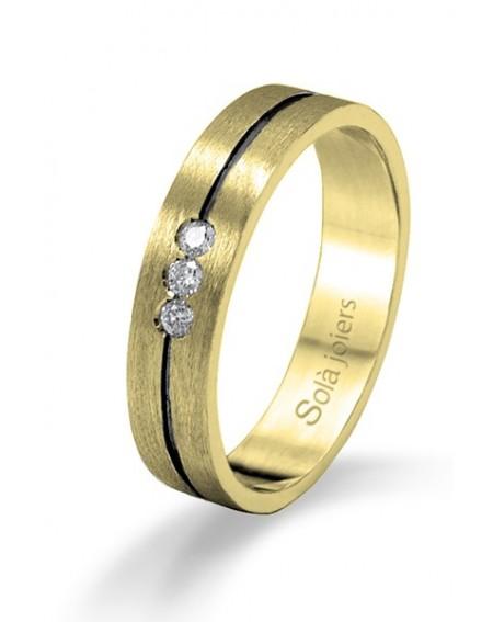 Alianza de boda Classic en Oro de 18K
